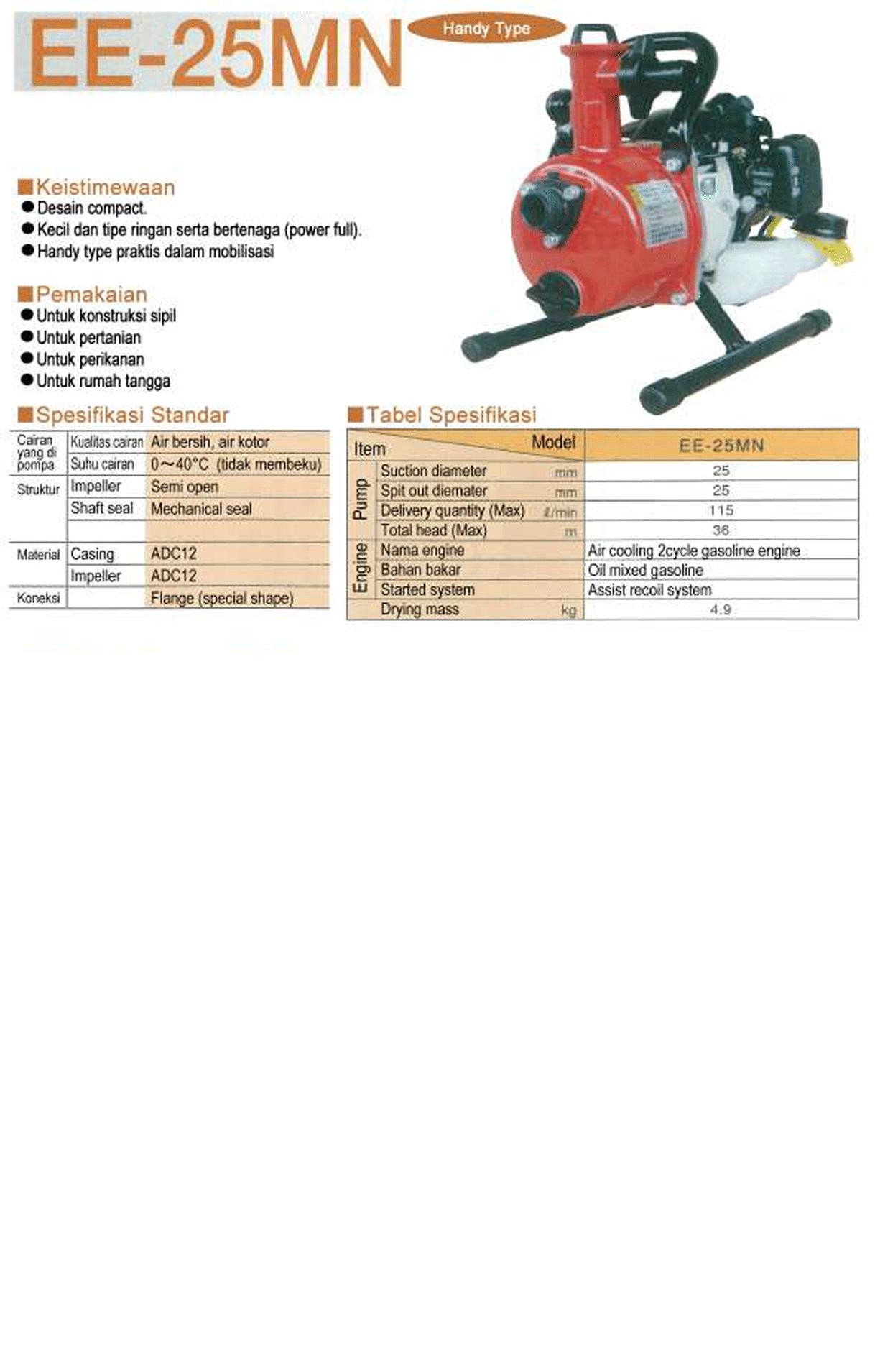Engine Pump EE-25MN