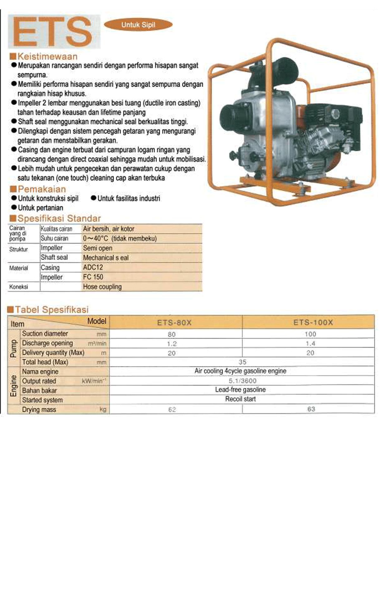 Engine Pump ETS