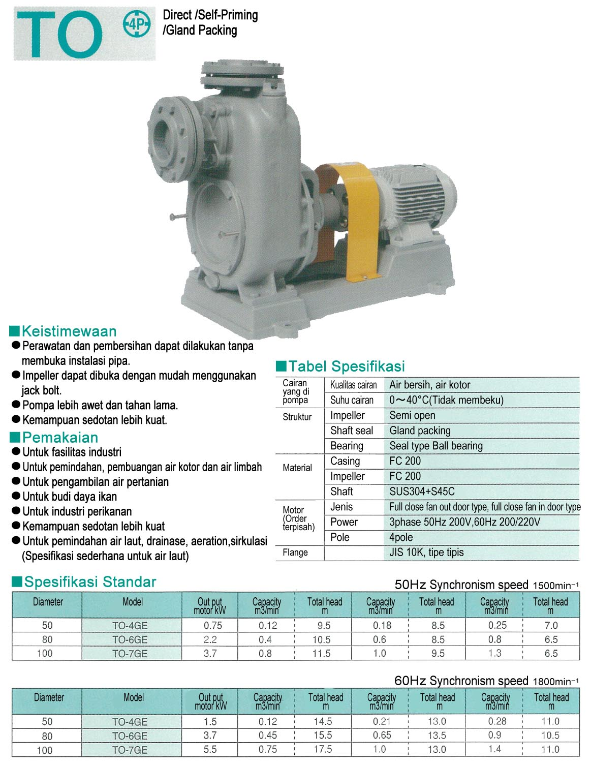 On-Land Pump TO